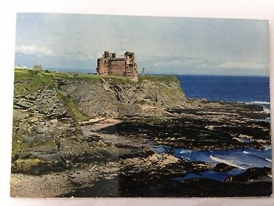 Used postcard - East Lothian - Tantallon Castle