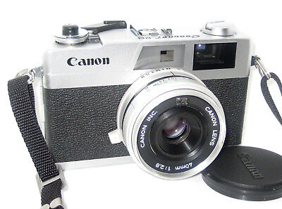 Canon Canonet 28  Perfetta Serviced  Mint - 100% Funzionante Fully Working