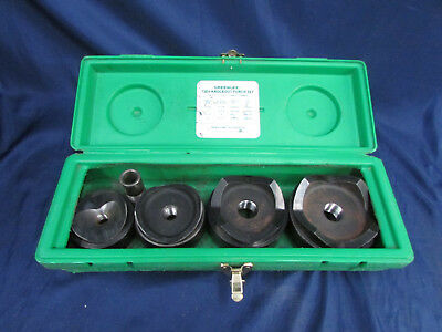 """Greenlee 7304 Knockout Punch Set 4PC 2 1/2"""",3"""",3 1/2"""",4"""""""