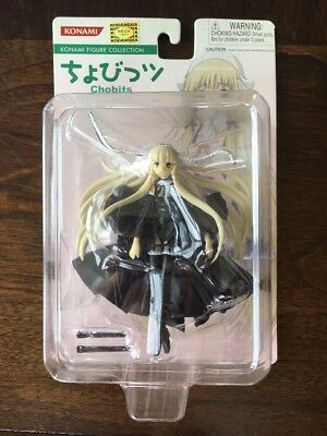 Konami Figure Collection Chobits Chi Black Vinyl Figure Chii CLAMP kodansha