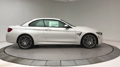 BMW M4  New 2 dr Convertible Manual Gasoline 3.0L STRAIGHT 6 Cyl Mineral White Metallic