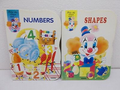 % 2 Pilu The Clown Hardcover Books  Numbers Shapes Huge Cover