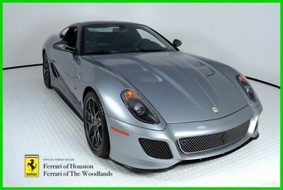 Ferrari 599 GTO  2011 FERRARI 599 GTO, GRIGIO TITANIO, FERRARI APPROVED, WARRANTY, ONE OF 599