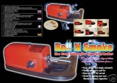 Roll N Smoke  Easy Automatic Cigarette Tobacco Perfect Electric  Roller