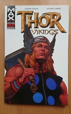 Thor: Vikings - Marvel Max graphic novel TPB, Rare, Out Of Print