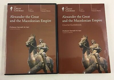 GREAT COURSES Alexander the Great and the Macedonian Empire Guidebook & 6 DVDs