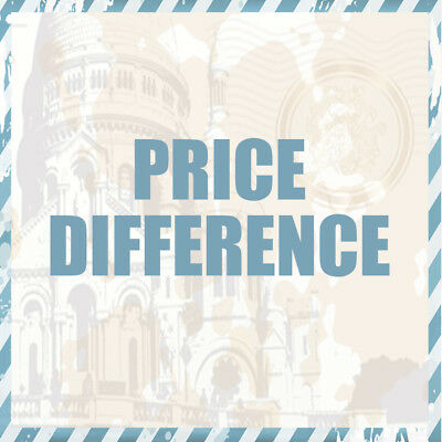 Price difference Postage Prepaid Pay for Resending Additional Freight