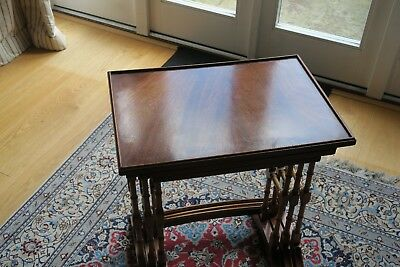 Bevan And Funnel Nest Of Tables In Mahogany