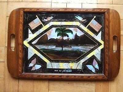 Reverse-Painted-Butterfly-Wing-Tray-Rio-de-Janeiro