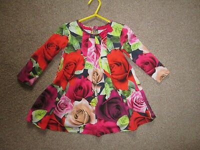 baby girls Ted baker red rose dress 18-24 months