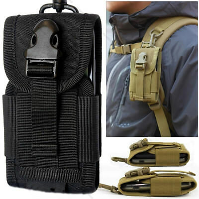 Tactical military Fanny Pouch Belt Hip Molle Waist Bag cell Phone Case Holder