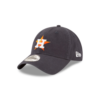 outlet store 4f0eb 44ee1 New Era Houston Astros 9TWENTY Adjustable Dad Hat Cap Core Classic Navy 47  MLB H