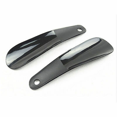 Professional Plastic Shoehorn Spoon Shoes Lifter Portable Spoon Shoe HornQY