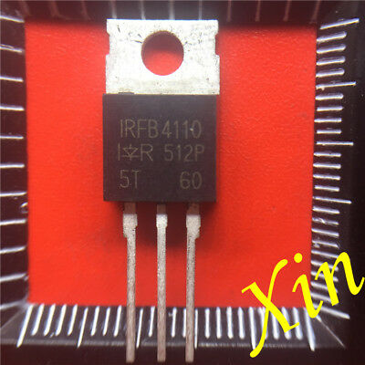 10PCS  IRFB4110 Transistor N-MOSFET 100V 180A 370W TO220AB NEW
