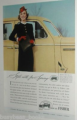 1939 Fisher Body ad, General Motors Cars, Buick, color