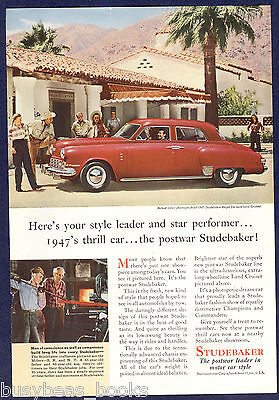 1947 STUDEBAKER advertisement, Studebaker Regal De Luxe Land Cruiser
