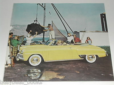 1948 Studebaker ad, Studebaker Convertible on dock