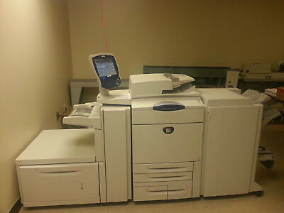 Xerox DocuColor 260 w oversize feeder and bookletmaker finisher