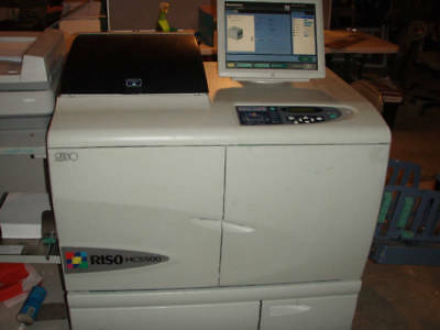 Riso HC5500 com color digital hight speed printer