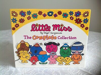 Little Miss The Complete Collection (36 books) by Roger Hargreaves plus 13 extra