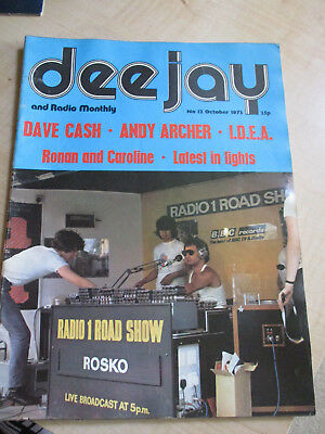 DEEJAY AND RADIO MONTHLY - Oct 1973 - 46 pages