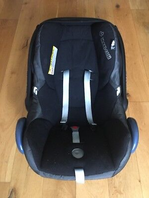 MAXI-COSI CABRIOFIX Group 0+ Baby Car Seat, Black Raven - £9.99 ...