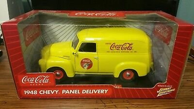 Nib Jl 1948 48 Chevy Panel Delivery Diecast 1:18 Coca Cola Johnny Lightning Car