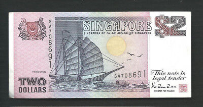 Singapore 1997 2 Dollars P 34 Circulated