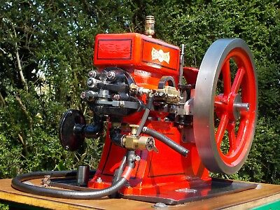 Economy Hit and Miss Open Crank Stationary Gas Engine Model