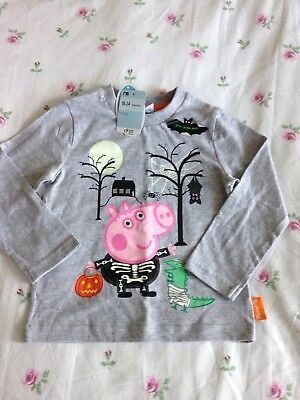 Mothercare Halloween Top Age 18 Months - 2 Years - George Pig