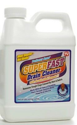 Professor Amos 32 fl. oz. SuperFast Drain Cleaner