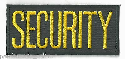 Security - Iron On Patch