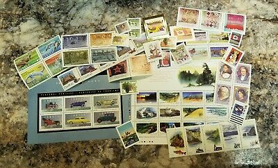 Stamps Of Canada 1993 Annual Yearbook Stamp Collection