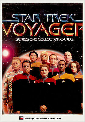 1994 Skybox Star Trek Voyager Season 1 Official Card Album (No pages)-Rare