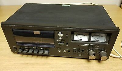 Sharp Stereo Cassette Deck 240V Model Rt-1122H Player Seperate System Machine