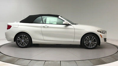 BMW 2 Series 230i 230i 2 Series 2 dr Convertible Automatic Gasoline 2.0L 4 Cyl Alpine White