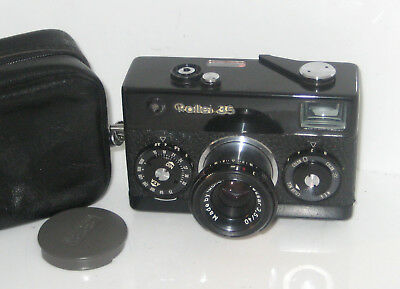 Rollei 35  Nera Black Serviced  100% Funzionante Fully Working