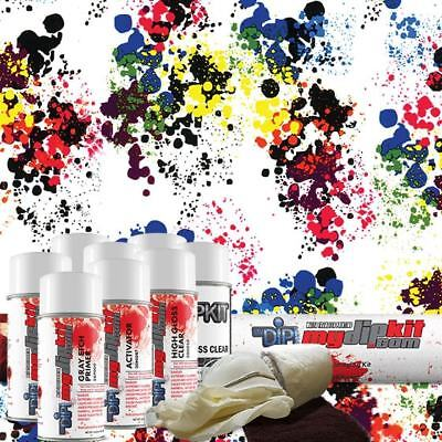 Hydrographic Film DD-968-A Hydro Dipping- Blood Drops Water Transfer Printing Film