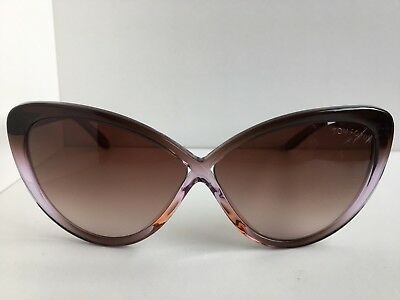 edc4affba36d TOM FORD MADISON TF 253 TF253 50Z 63mm Cats Eye Women's Sunglasses ...