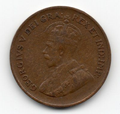 1932 Canada Small One Cent
