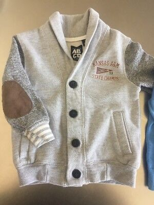 ABCD By Indie Fleece Cardi Jacket Size 1