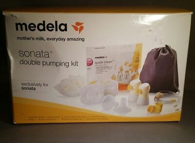 Medela Sonata Double Pumping Kit #68053 - Box Shows Wear - New