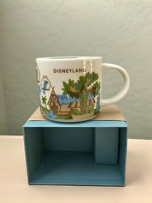 Disney Parks & Starbucks - You Are Here - Disneyland Adventureland Mug