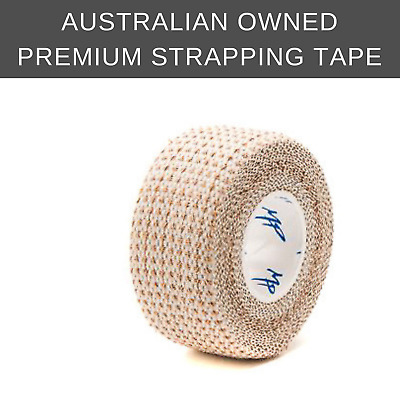 Sports strapping tape: Elastic Adhesive Bandage (stretch) 10 rolls, 25mm x 4.5m