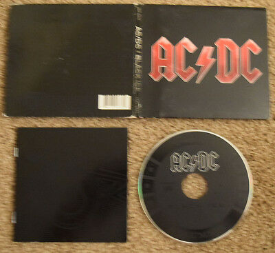 AC/DC - Black Ice digipack reissue BRIAN JOHNSON ANGUS YOUNG ROSE TATTOO