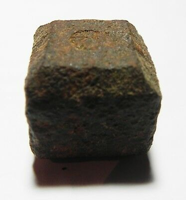 Zurqieh - As4349- Ancient Holy Land. Islamic. Iron Weight. Mamluk Or Earler.