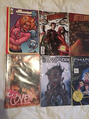 #1 Comic Bundle! Horrorcide Coven Deity Freshmen Battlehymn Shadow Agents
