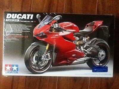 Tamiya 1/12 Ducati 1199 Panigale S Sport Motorcycle Kit # 14129 Factory Sealed