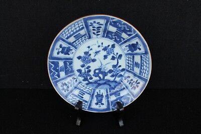 Small Kangxi plate with wanli decoration ca. 1700 Chinese export