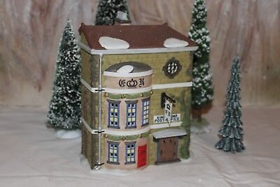 """*MINT* Dept.56 Dickens Village """"KINGS ROAD POST OFFICE"""" #58017 WITH ORIGINAL BOX"""